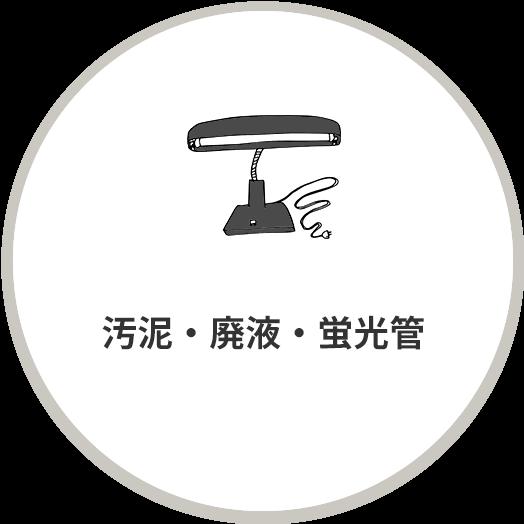 汚泥・廃液・蛍光管